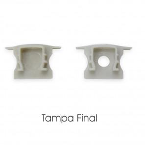 EKPF11C - Tampa finais + Presilha para fixação (PAR) para EKPF11