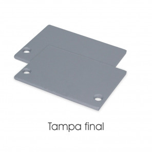 EKPF82C - Tampa final para perfil EKPF82