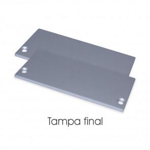 EKPF63C - Tampa final para perfil EKPF63