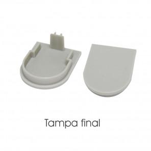 EKPF81C - Tampa final para perfil EKPF81