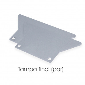 EKPF83C - Tampa final para perfil EKPF83