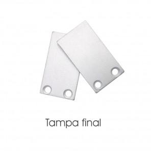 EKPF84C- Tampa final para perfil EKPF84