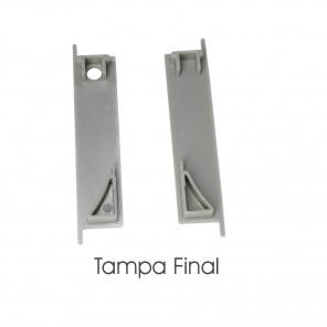 EKPF92C - Tampa final para perfil EKPF92