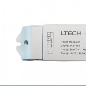 Amplificador para fita RGBW - 12V~24V / 240W~480W