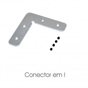 EKPF100CL - CONECTOR 90° FLAT para perfil EKPF100