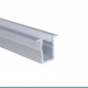EKPF11SL - Perfil de alumínio slim embutir