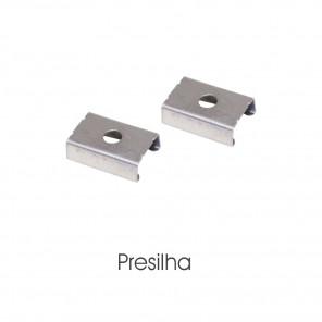 EKPF11SLE - Presilha para perfil embutir EKPF11SL