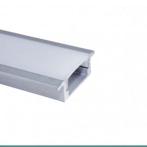 EKPF21 - Perfil de alumínio embutir