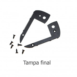 EKPF42C - Tampa final para perfil EKPF42