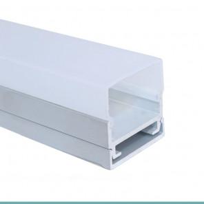 EKPF80 - Perfil de alumínio sobrepor