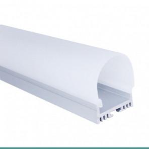 EKPF81 - Perfil sobrepor de alumínio