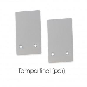 EKPF87C - Tampa final para perfil EKPF87