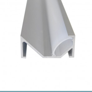 EKPF88 - Perfil de alumínio sobrepor