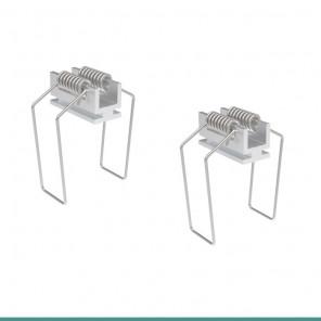 EKPF89E - Presilha de alumínio para perfil EKPF89
