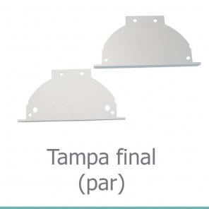 EKPF90C - Tampa final para perfil EKPF90