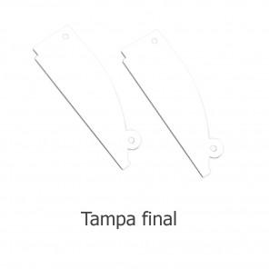 EKPF96C - Tampa final para perfil EKPF96