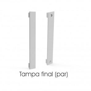 EKPF98C - Tampa final para perfil EKPF98